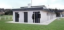 SAINT PIERRE DE CHANDIEU - 69 - REHABILITATION ET EXTENSION DES VESTIAIRES DU STADE