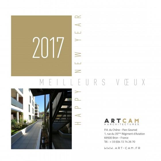 ARTCAM vous souhaite une excellente année 2017
